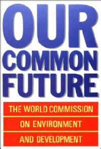 Bild Our Common Future